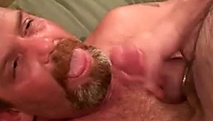 facialized gay bear
