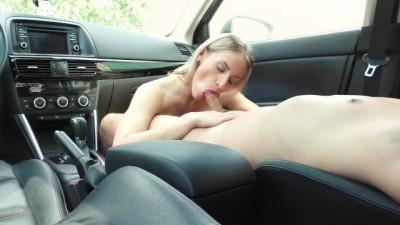 Elen_Hot - Blonde Sucking In Parking Lot