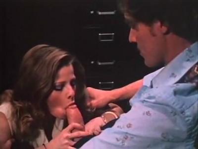 John Holmes, Chris Cassidy, Paula Wain in vintage porn 1