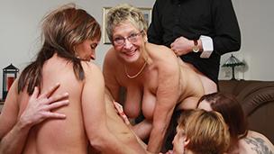 Class Reunion Mature Fuck Orgy