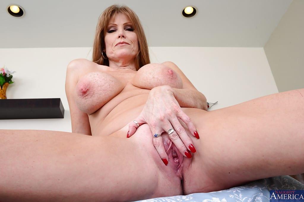 Darla Crane Sexy Redhead MILF Fucked Outdoors